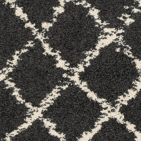 Berber Shag Rug ~ Beige & Charcoal - Cece & Me - Home and Gifts