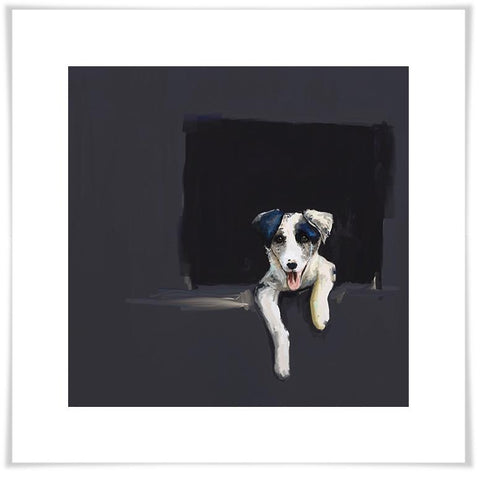 Image of Best Friend - Border Collie Puppy Wall Art - Cece & Me - Home and Gifts