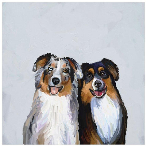 Image of Best Friend - Border Collies Wall Art - Cece & Me - Home and Gifts