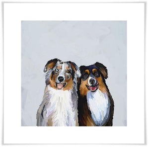 Best Friend - Border Collies Wall Art - Cece & Me - Home and Gifts