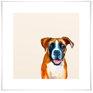 Best Friend - Boxer Wall Art - Cece & Me - Home and Gifts