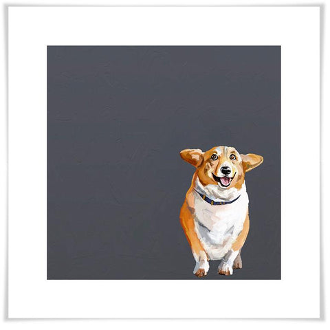 Image of Best Friend - Corgi Wall Art - Cece & Me - Home and Gifts