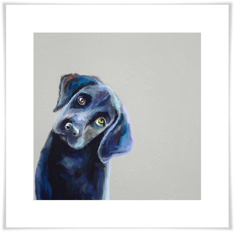 Best Friend - Curious Black Lab Wall Art - Cece & Me - Home and Gifts