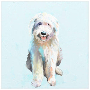 Best Friend - English Sheep Dog Wall Art - Cece & Me - Home and Gifts