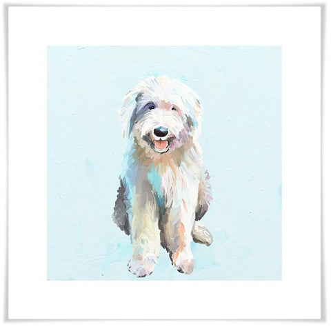 Image of Best Friend - English Sheep Dog Wall Art - Cece & Me - Home and Gifts