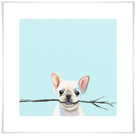 Image of Best Friend - Frenchie Fetch Wall Art - Cece & Me - Home and Gifts