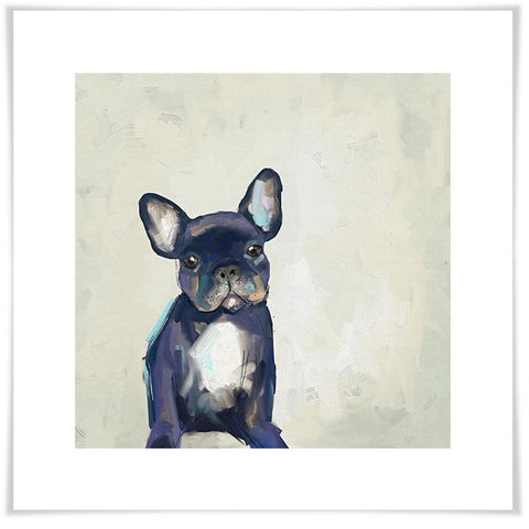 Image of Best Friend - Frenchie Pup Wall Art - Cece & Me - Home and Gifts