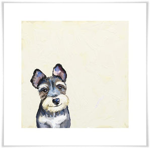 Best Friend - Schnauzer Wall Art - Cece & Me - Home and Gifts
