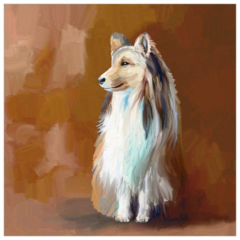 Best Friend - Shetland Sheepdog Wall Art - Cece & Me - Home and Gifts