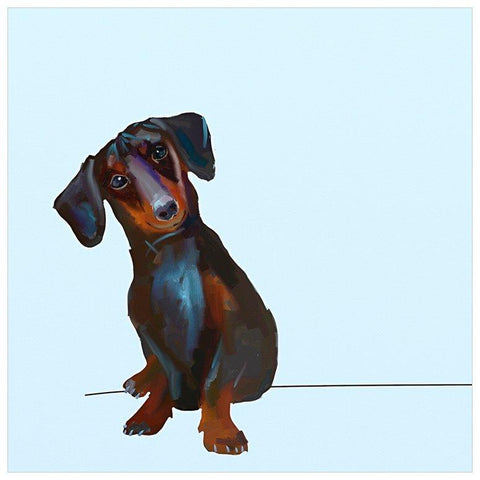 Best Friend - Tippy The Dachshund Wall Art - Cece & Me - Home and Gifts