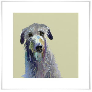Best Friend - Wolfhound Wall Art - Cece & Me - Home and Gifts