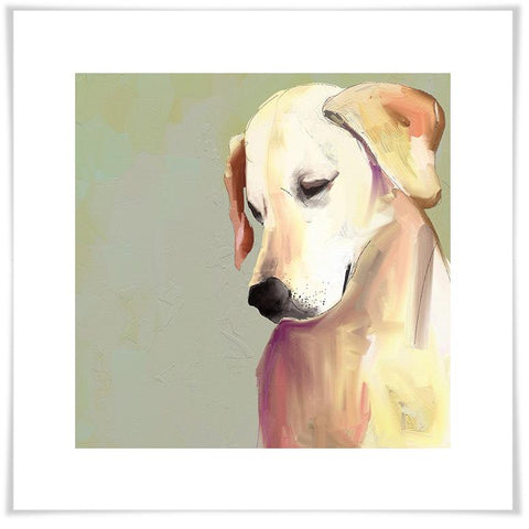 Image of Best Friend - Yellow Lab Wall Art - Cece & Me - Home and Gifts