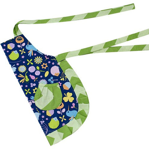 Cute Blue & Green Kids Apron - Cece & Me - Home and Gifts