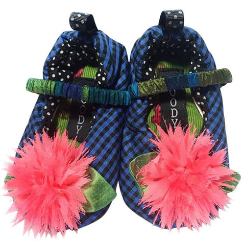 Bubblegum Blast Slippers ~ Infants - Cece & Me - Home and Gifts