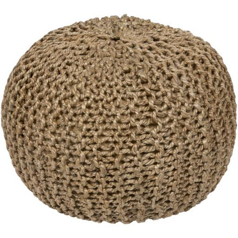 Image of Bermuda Pouf ~ Khaki - Cece & Me - Home and Gifts