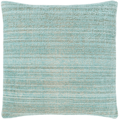 Accretion Pillow ~ Emerald, Aqua, Beige - Cece & Me - Home and Gifts