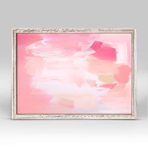 Calm Cool Collected - Pink Mini Framed Canvas - Cece & Me - Home and Gifts