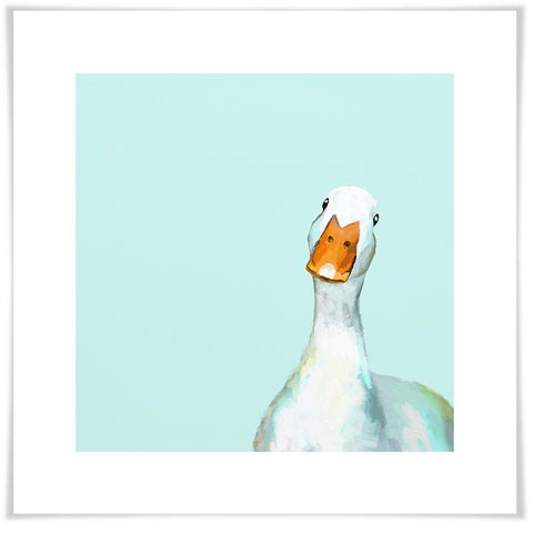 Image of Curious Duck Wall Art - Cece & Me - Home and Gifts