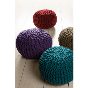 Fargo Pouf ~ Dark Green