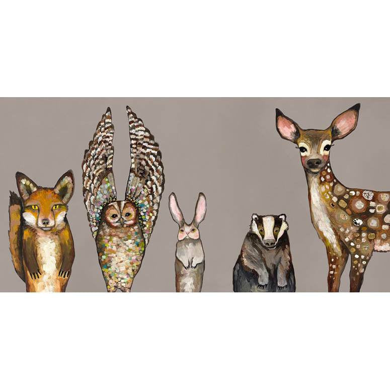 Forest Animals ~ Taupe - Cece & Me - Home and Gifts