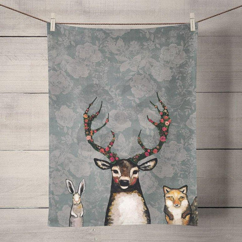 Image of Fox, Buck & Hare - Floral Tea Towels - Cece & Me - Home and Gifts