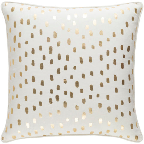 Glyph Pillow II ~ Gold