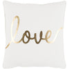 Glyph Love Pillow II ~ Gold