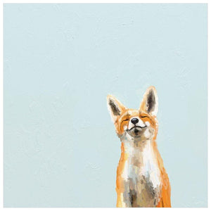 Happy Fox Wall Art - Cece & Me - Home and Gifts