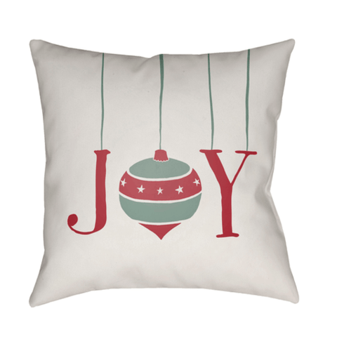 Holiday Joy Pillow ~ Cream - Cece & Me - Home and Gifts