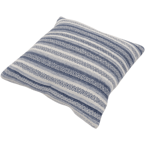 Image of Isabella Pillow ~ Navy, Denim, White - Cece & Me - Home and Gifts