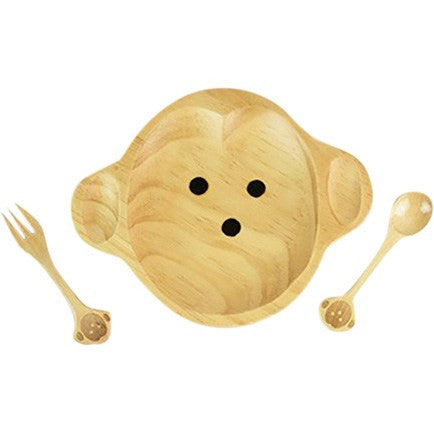 Kids Wooden Plate ~ Monkey - Cece & Me - Home and Gifts