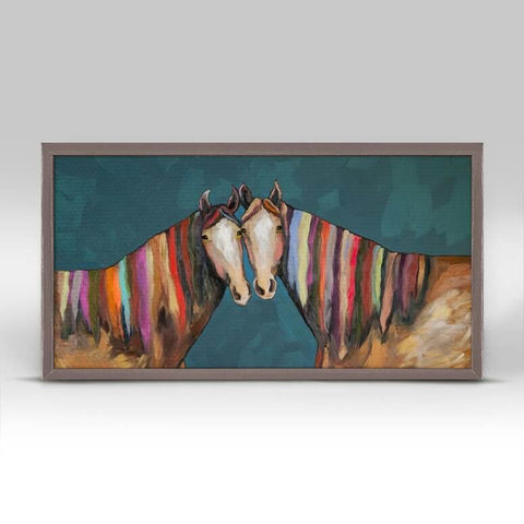 Image of Manes of Color Mini Framed Canvas - Cece & Me - Home and Gifts
