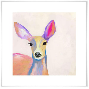 Miss Deer Wall Art - Cece & Me - Home and Gifts