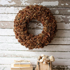 Pinecone Wreath - Cece & Me - Home and Gifts