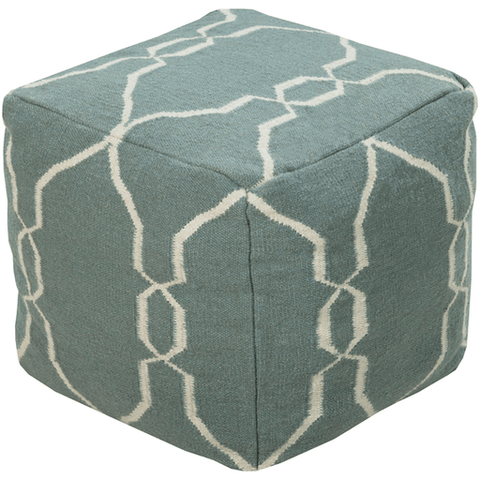 Fallon Pouf ~ Denim - Cece & Me - Home and Gifts