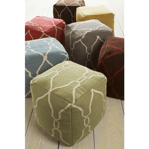 Fallon Pouf ~ Sage - Cece & Me - Home and Gifts
