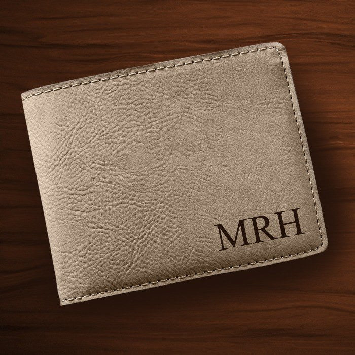 Personalized Leatherette Wallet - Cece & Me - Home and Gifts