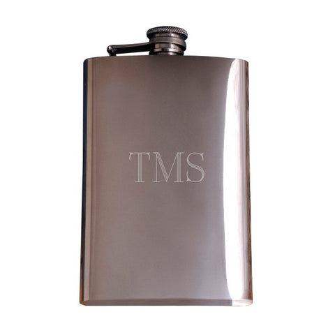 Image of Gunmetal Flask - Cece & Me - Home and Gifts