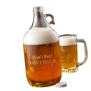 Personalized Beer Growler - Cece & Me - Home and Gifts