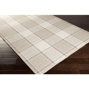 Rockford Wool Rug ~ Taupe/Cream - Cece & Me - Home and Gifts
