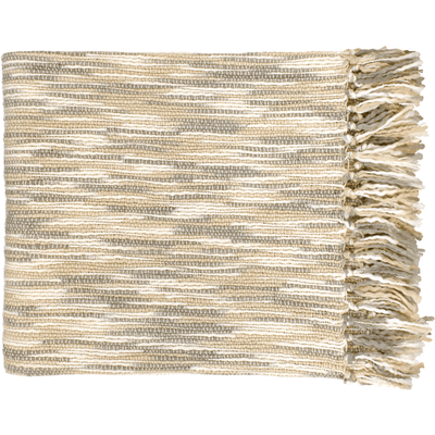 Teegan Throw ~ Ivory/Gray/Cream - Cece & Me - Home and Gifts