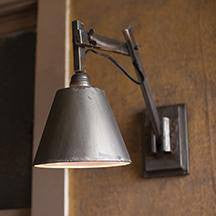 Industrial Wall Studio Lamp - Cece & Me - Home and Gifts