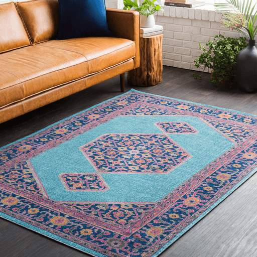 Tessera Rug ~ Teal/Garnet - Cece & Me - Home and Gifts