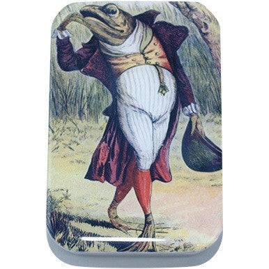 Image of Vintage Gentleman Frog Card Case, Pill Box, Slider Tin, Mint Tin - Large - Cece & Me - Home and Gifts