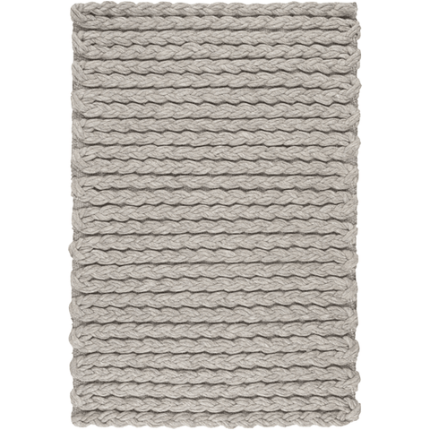 Yukon Wool Rug ~ Light Gray - Cece & Me - Home and Gifts