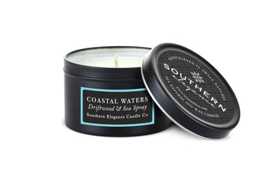 Coastal Waters: Driftwood & Sea Spray