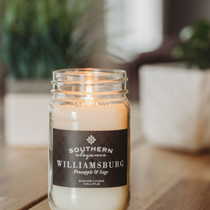 Large 16 oz Mason Jar Candle : All Signature Scents Collection (Quick Order)