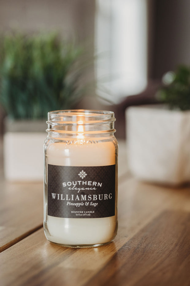 Large 16 oz Mason Jar Candle : All Signature Scents Collection (Quick Order) 1