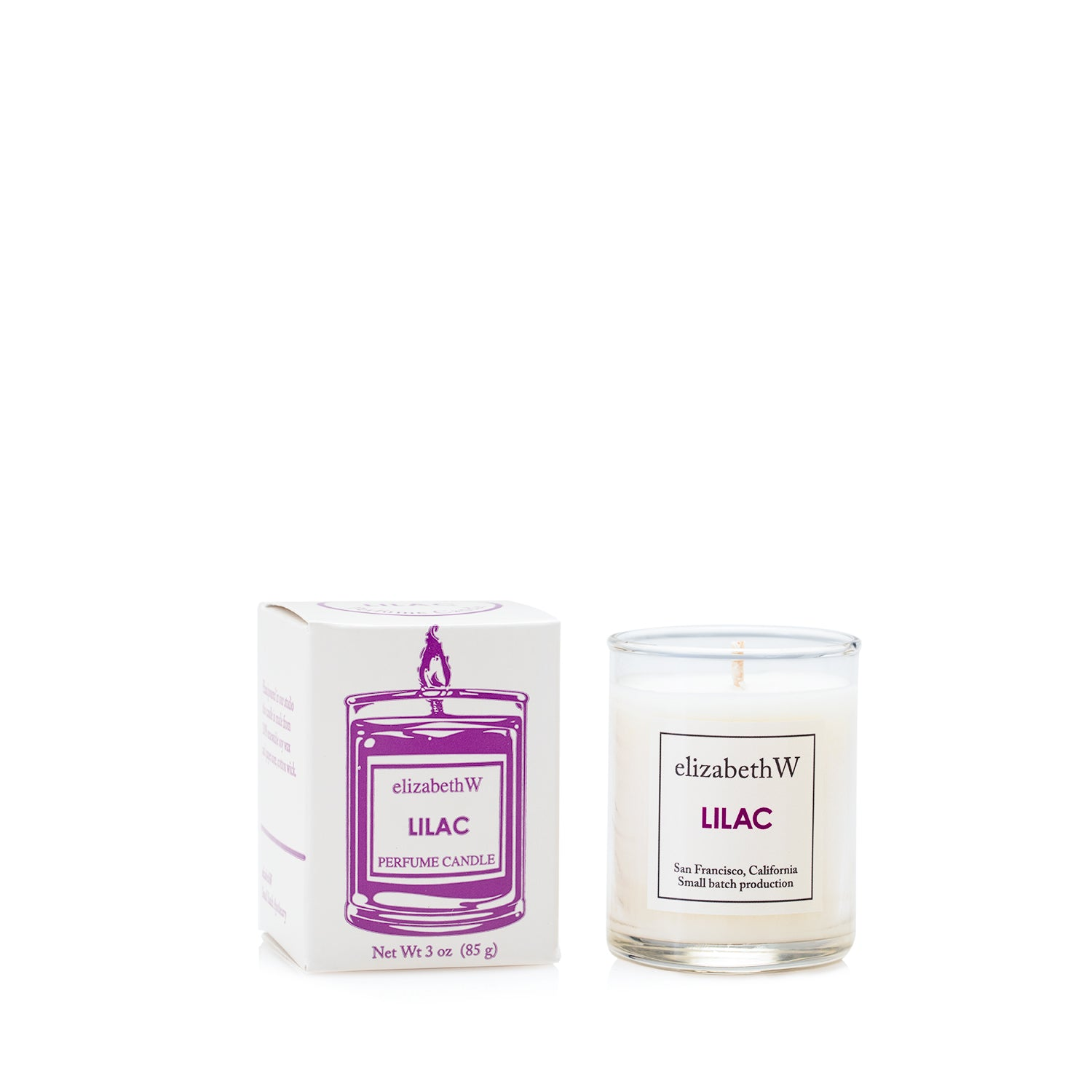 Lilac Candle-Petite