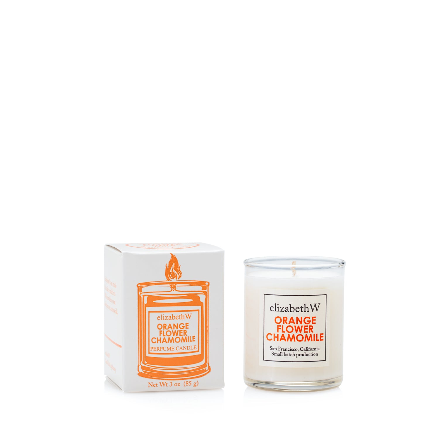 Orange Flower Chamomile Candle-Petite